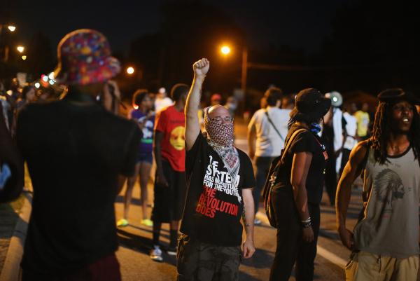 An Eyewitness Account of Violence in Ferguson, Mo.
