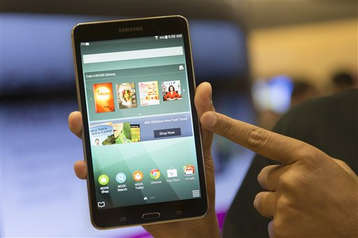 B&N, Samsung Unveil Reading-Focused Nook Tablet