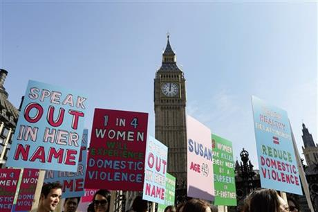 Europe in Push to Stop Violence Against Women