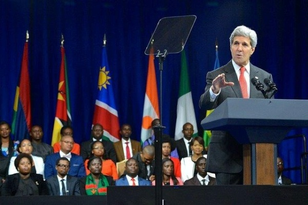 Kerry and Biden Urge African Leaders to be More Open