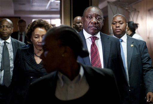 South African Deputy President Tells of Killings