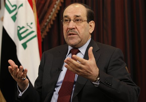 Iraq's al-Maliki Steps Down, Backs Rival for PM