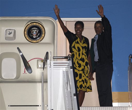 Obama Back at White House after Summer 'Vacation'