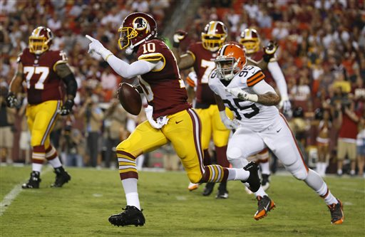 This is the End for Robert Griffin III in Washington