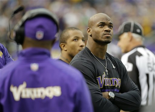 Peterson's Future with Vikings Dims Further