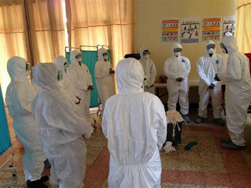 Hospitals Grapple with Possibility of Ebola