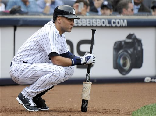 Jeter Poised for 1 Final Game in Pinstripes