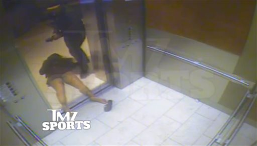 Third Video of Ray Rice Domestic Violence Incident Shows Couple in Handcuffs, Kissing After Arrest