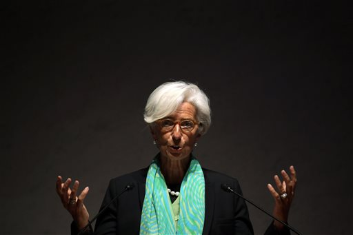 IMF's Lagarde Says Women Vital for Global Recovery