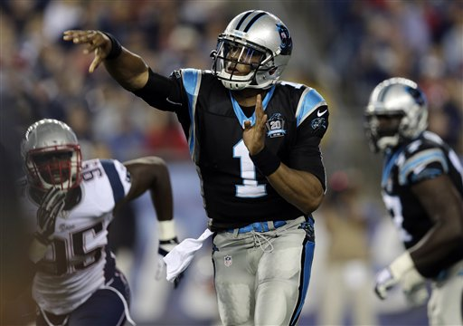 Panthers QB Newton Returns to Practice Field