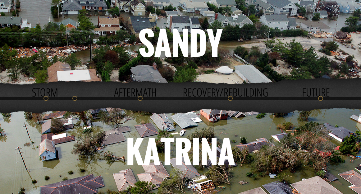 hurricane katrina and sandy essay Free essay: comparisons between hurricane sandy and hurricane katrina  hurricanes are formed over tropical waters these intense storms consist of  winds.