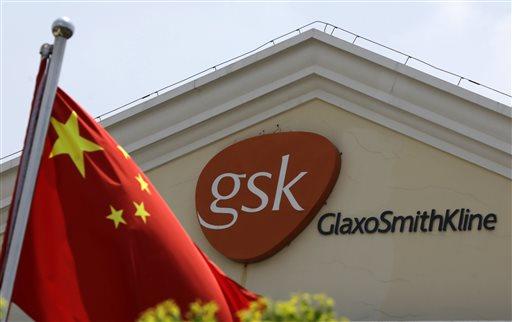 China Fines GlaxoSmithKline $492M for Bribery