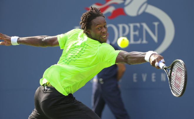 U.S. Open: Monfils Wins, Will Face Federer in Quarterfinal