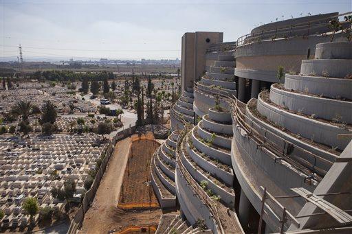 Israel Raises the Dead with Skyward Cemetary