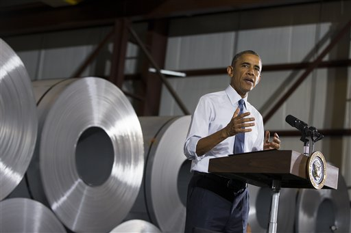Obama Highlights Economic, Manufacturing Gains