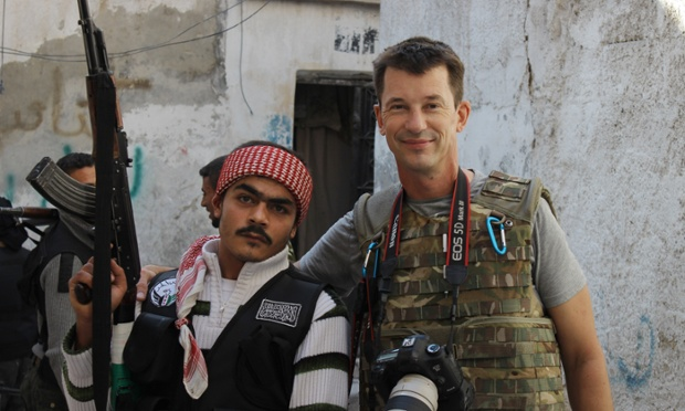 In Bizarre New Video, Islamic State Hostage Gives Tour of Kobane