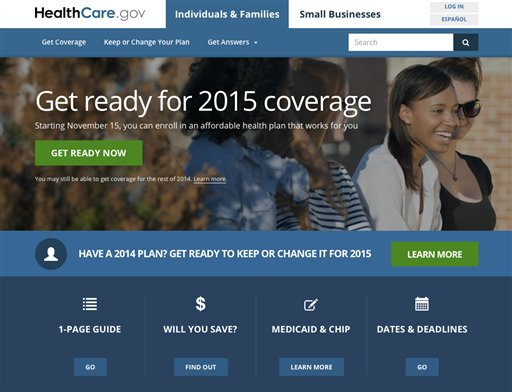 New HealthCare.gov Improved, but With a Glitch