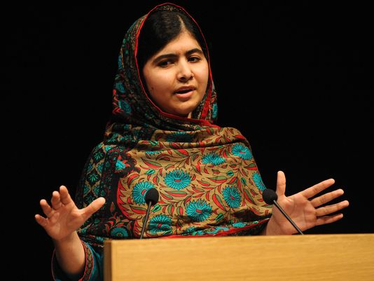 Nobel Winner Malala Urges Kids to Stand Up for Rights
