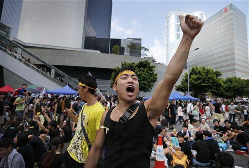 'Yellow Umbrella' App Lets you Play Hong Kong Democracy Protester