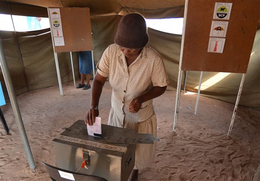 Botswana Votes in Closest Poll in 48 Years