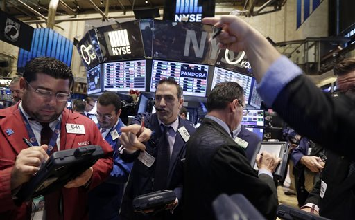 Wall Street Ends Lower, But Health Stocks Rally