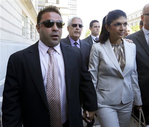 Stars of 'Real Housewives' Get Prison for Fraud