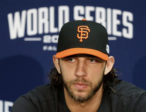Bumgarner Against Shields in World Series Opener