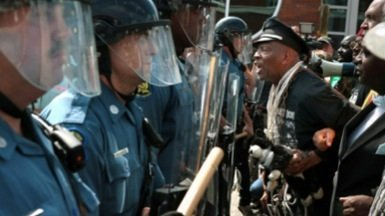 Justice Department Officials Visit Ferguson