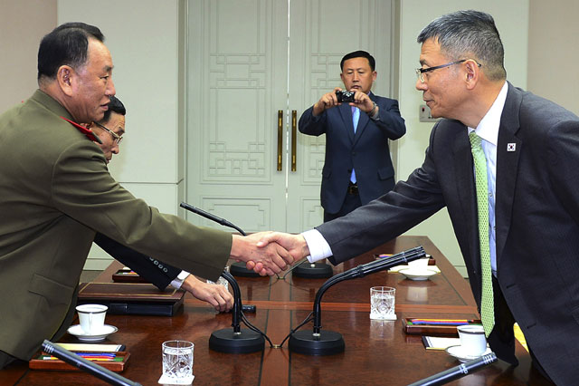 North and South Korea End Military Talks Without Agreement