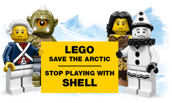 Lego Ditches Shell After Arctic Oil Protests