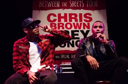 Chris Brown, Trey Songz Reunite for US Tour