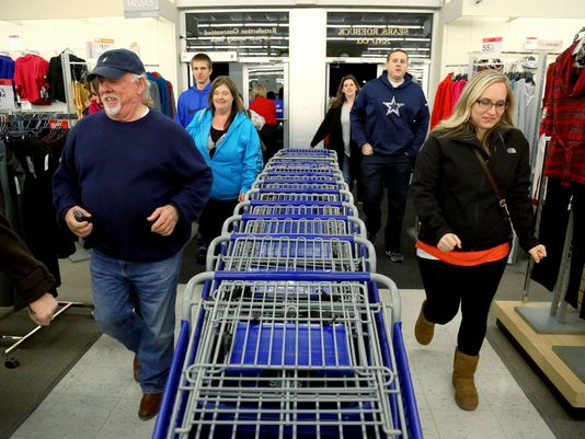 Black Friday Arriving Early, on a Saturday