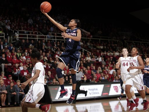 No. 1 UConn Women Stunned by No. 6 Stanford 88-86
