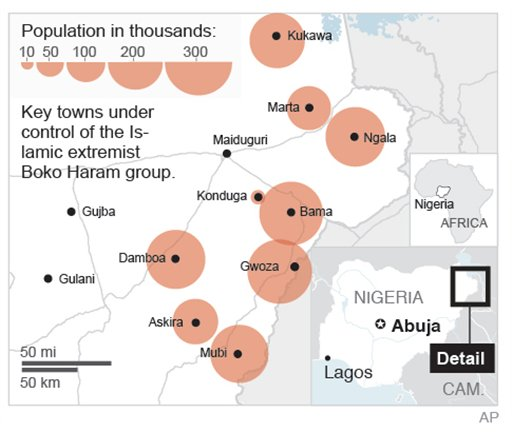 Nigerians Flee as Islamic Extremists Dig In