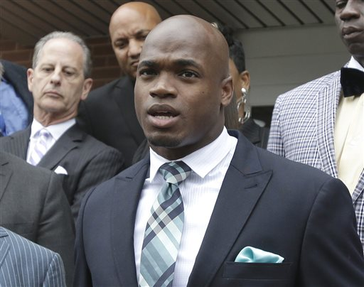 Adrian Peterson Hearing Will be Monday