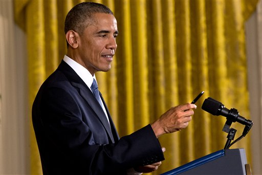 Obama Strikes Upbeat Tone After a Gloomy Election