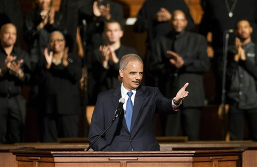 Holder Announces Plan to Target Racial Profiling