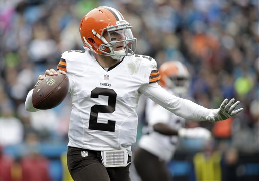 Around the NFL: Johnny Manziel Vows to Take Job More Seriously