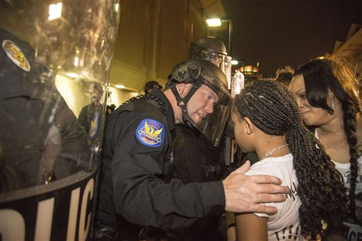 Poignant Image Emerges from Phoenix Protest