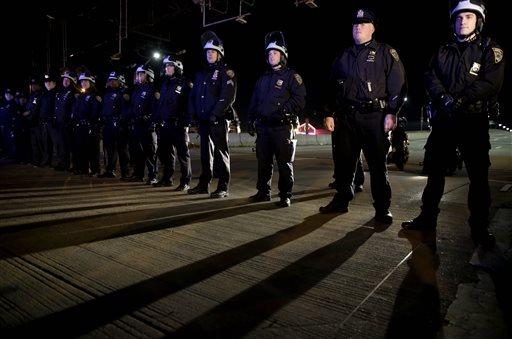 Protests Erupt After Decision in Chokehold Death