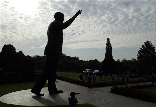 South Africans Mark First Anniversary of Nelson Mandela's Death