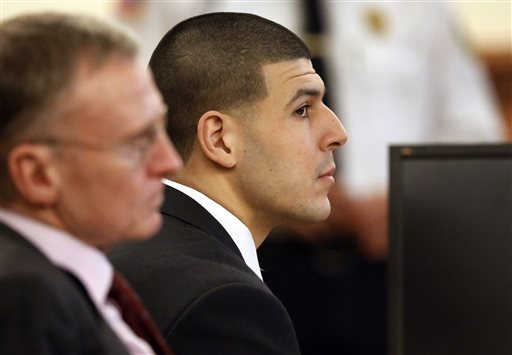 Aaron Hernandez Portrayed as Angry with Odin Lloyd on Day 28 of Trial