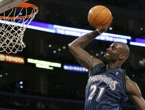 Kevin Garnett Returns to Minnesota in Deadline Deal