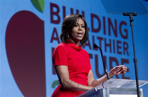 First Lady: US Experiencing Food 'Culture Change'