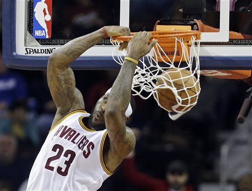 Cavs Clinch Division, 2nd Seed, 104-99 Over Bucks