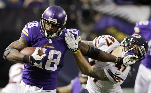 Agent for Adrian Peterson Says Minnesota Vikings Won't Release Him