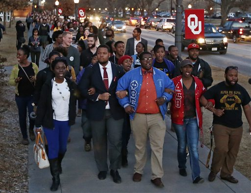 Oklahoma Incident Spotlights Race Problems at Fraternities