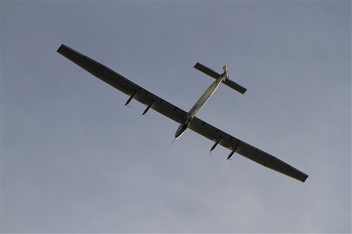 Solar-Powered Plane Lands in Myanmar on Latest Leg