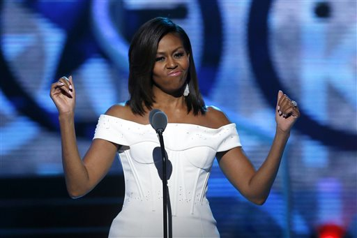 Michelle Obama Declares, 'Black Girls Rock!'