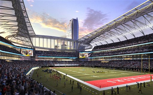 Downtown LA NFL Stadium Plan Declared Defunct; Others Remain
